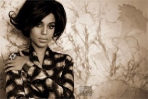 Fashion Spread: Kerry Washington for Vogue Italia