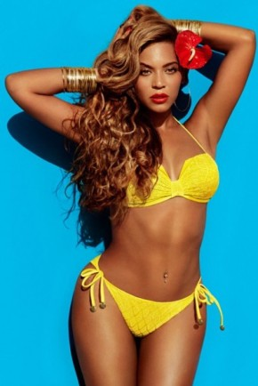 Fashion Spread: Beyonce as Mrs. Carter in H&M