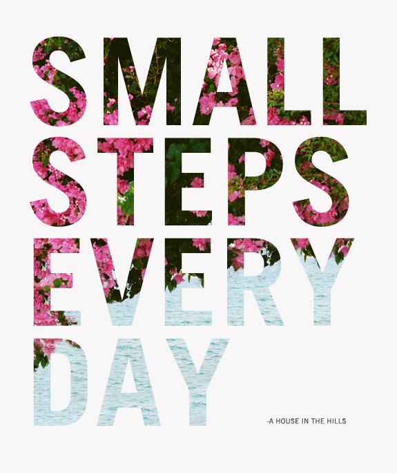 Small Steps Graphic